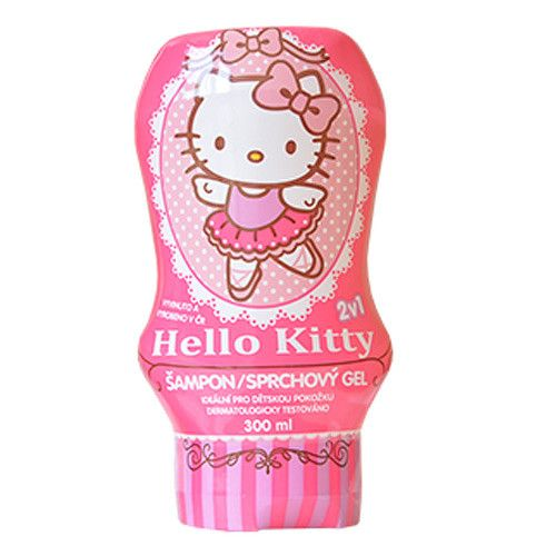 Šampon a sprchový gel Hello Kitty (Objem 300 ml)