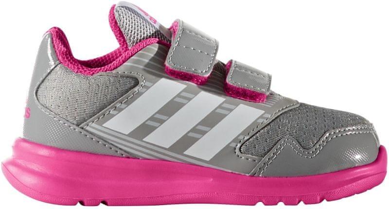 Adidas Altarun Cf I Mid Grey /Ftwr White/Shock Pink 26