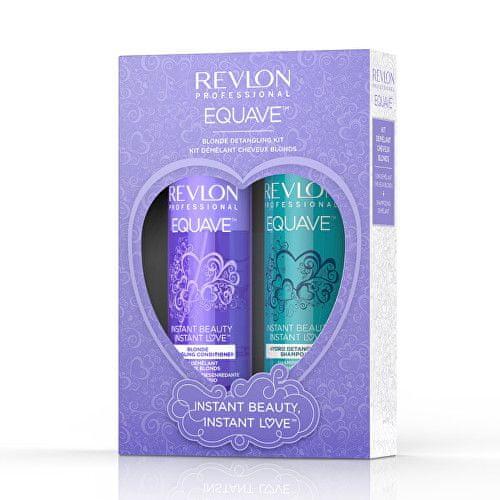 Revlon Professional Dárková sada pro blonďaté vlasy Equave Blonde Detangling Kit