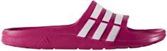 Adidas Duramo Slide K Pink Buzz Running White Ftw Pink Buzz