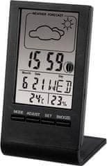 Hama vremenska postaja TH-100, črna