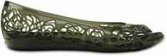 Crocs Isabella Jelly Balerinacipő, Fekete