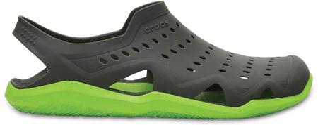 Crocs moški čevlji Swiftwater Wave, zeleni, 45 - 46
