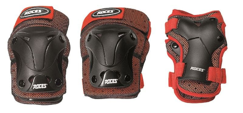 Roces Ventilated Pack JR Junior Red/black S