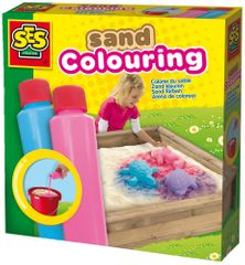 SES Barvy na písek růžová, modrá