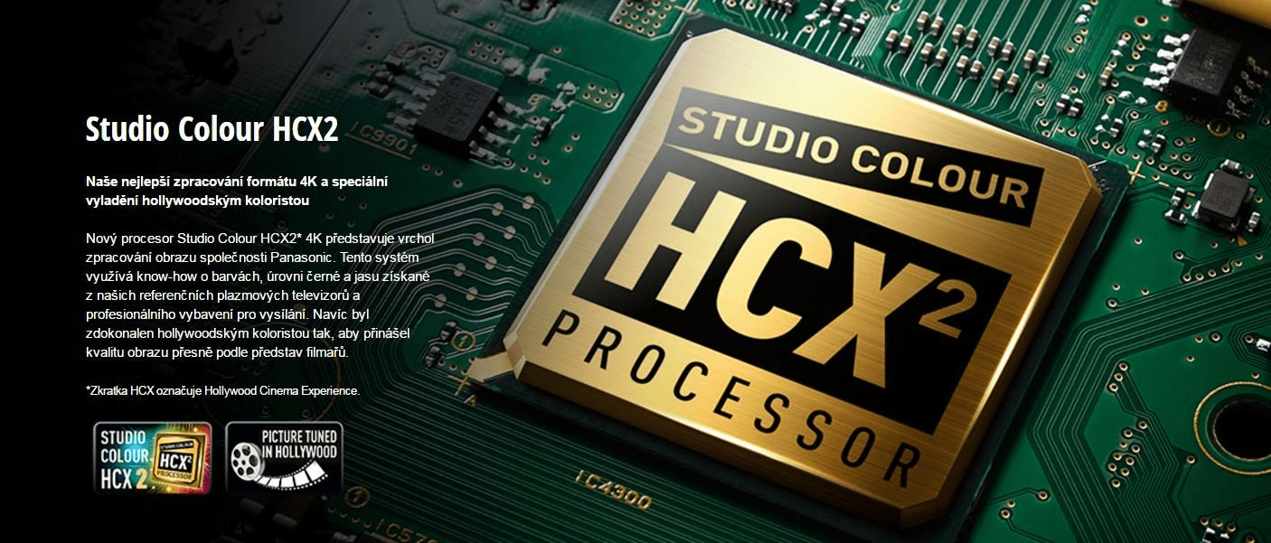 Procesor Studio Colour HCX2