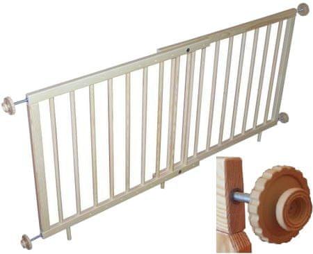 Sun Baby Dziecięca barierka na schody 70-110 cm alfa plus