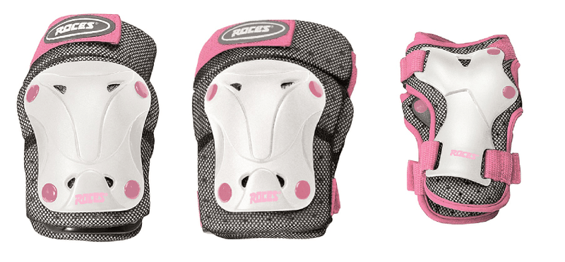 Roces Ventilated Pack JR Junior White/pink S