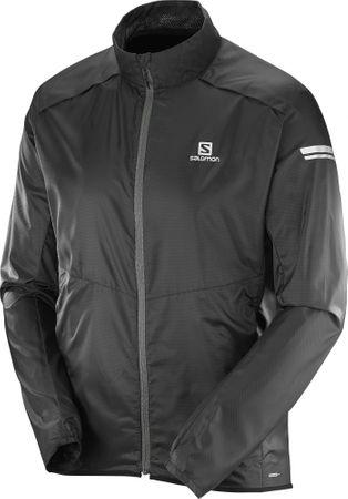 Salomon moška jakna Agile Jacket M, črna, XL