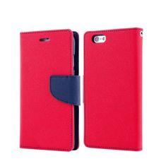 Havana preklopna torbica Fancy Diary Samsung Galaxy A3 2017 A320, rdeče moder