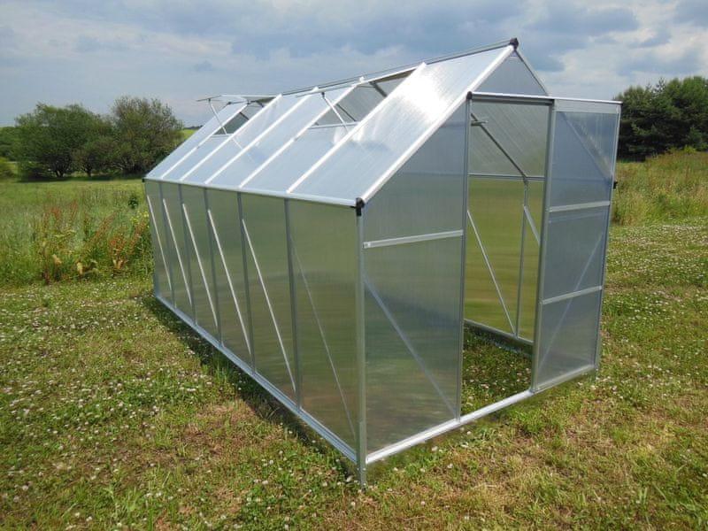 LanitPlast skleník LANITPLAST PLUGIN NEW 6x12 BASIC