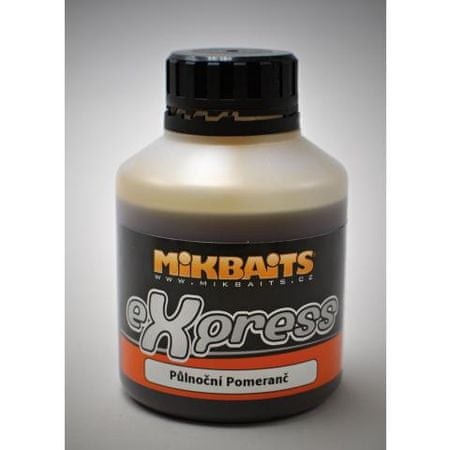 Mikbaits booster eXpress 250 ml Banán&Halibut