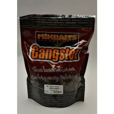 Mikbaits boilies Gangster 10 kg 24 mm g2 krab&ančovička&asa