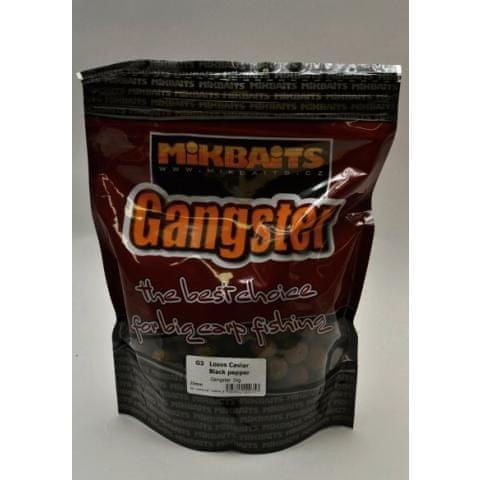 Mikbaits boilies Gangster 10 kg 20 mm g3 losos&caviar&black pepper