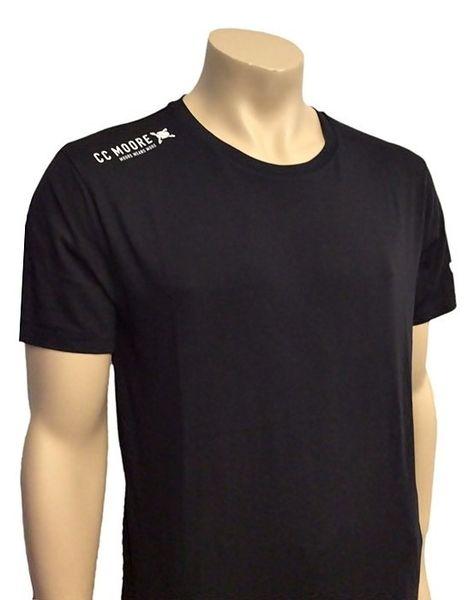 Cc Moore Tričko Černé New Logo XL