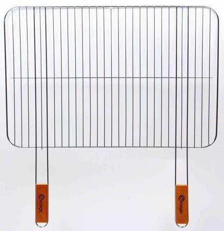 SOMAGIC Téglalap grillrács (406040CDS)