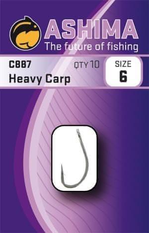 Ashima Háčky C887 Heavy Carp (10ks) 10