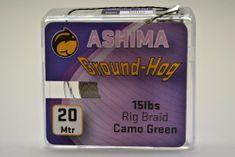 Ashima Extra potápivá návazcová šňůra Ground-hog 20 m 15 lb