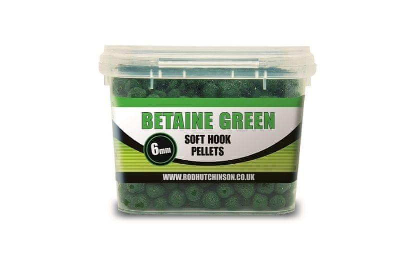 ROD HUTCHINSON Soft Hook Pellets 200 g 6 mm Betaine Green