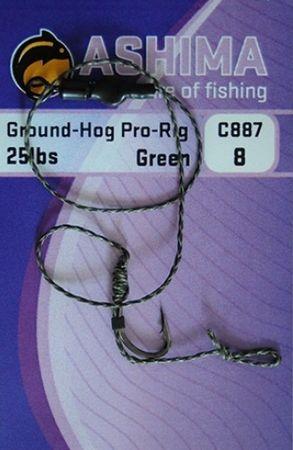 Ashima Návazce Ground-hog 8 +C887 2ks Hnědý