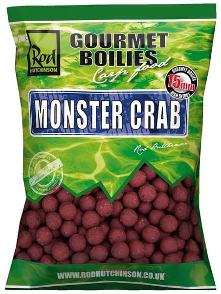 ROD HUTCHINSON Boilies Monster Crab With Shellfish Sense Appeal 1 kg, 20 mm