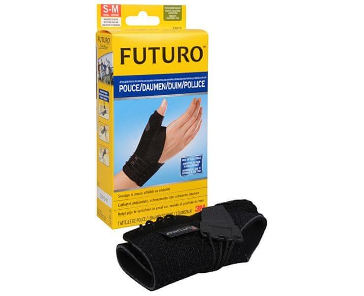 3M FILTRETE B.V. FUTURO Bandáž na palec S-M černá barva