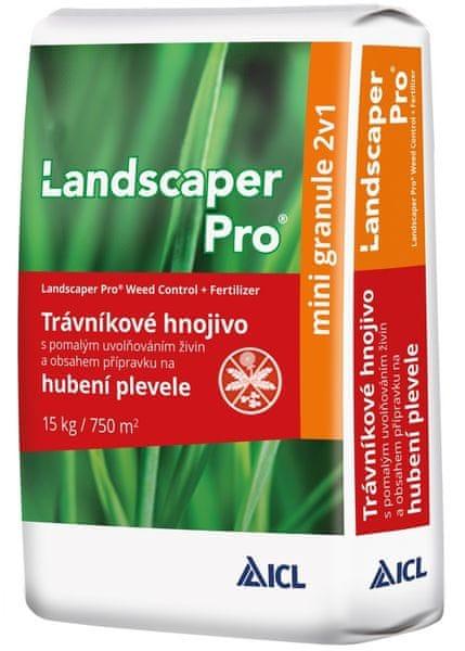 Landscaper - Trávníkové hnojivo s účinkem proti plevelům
