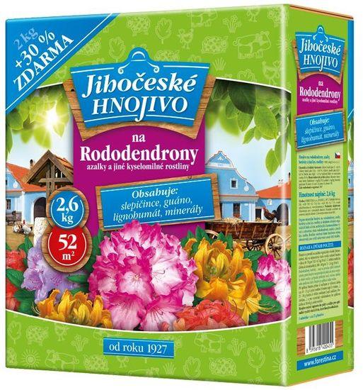Bohatá zahrada Jihočeské hnojivo na rododendrony a azalky, 2 kg + 30 % zdarma (1202016)