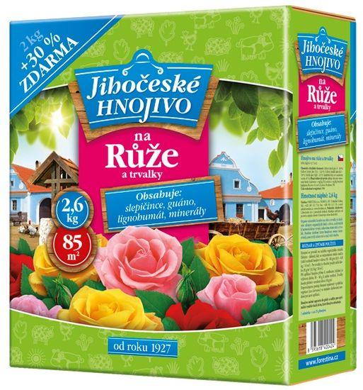 Bohatá zahrada Hnojivo na ruže a trvalky