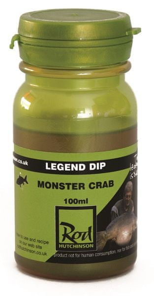 ROD HUTCHINSON Dip Legend Boilie 100 ml Monster Crab