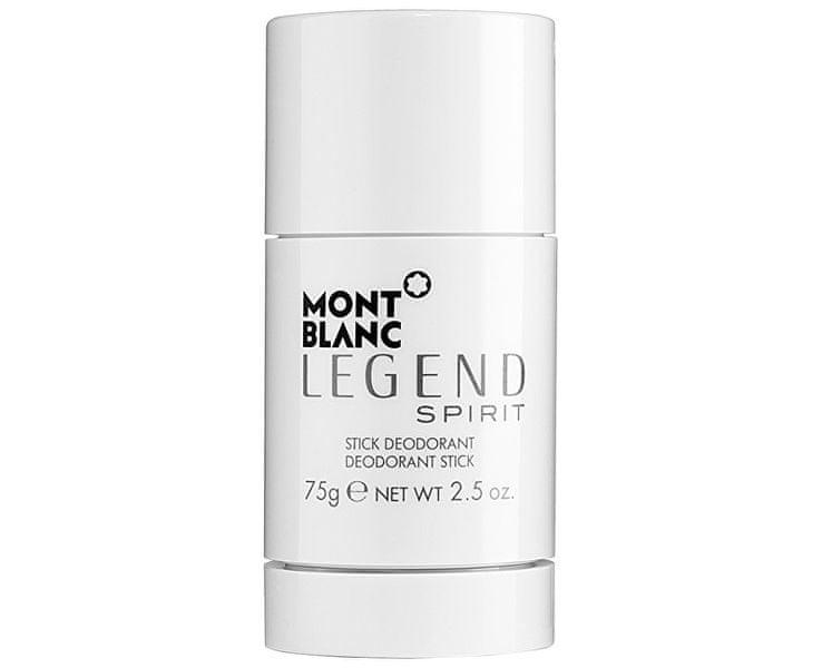 Mont Blanc Legend Spirit - tuhý deodorant 75 ml