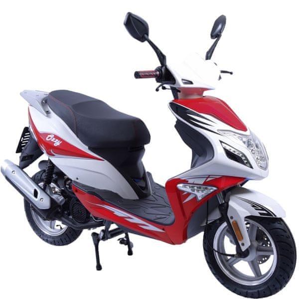 CLS MOTORCYCLE Skútr CLS OZZY 125 ccm červený