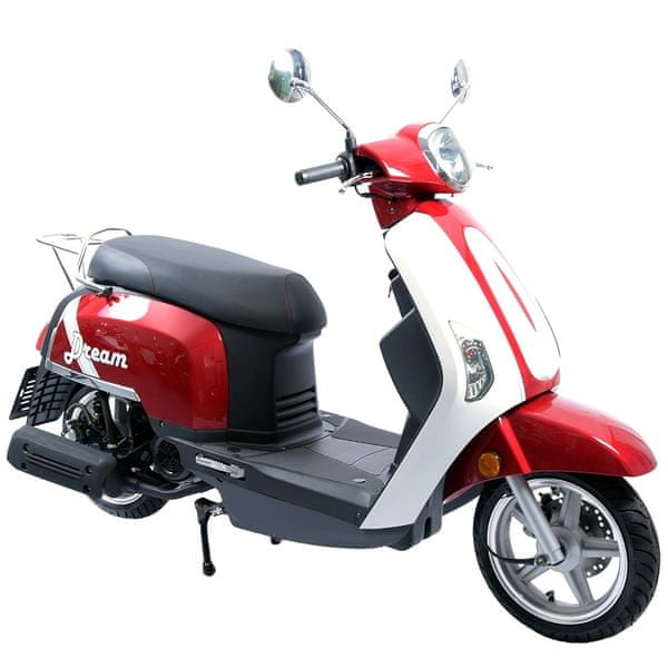 CLS MOTORCYCLE Skútr CLS DREAM 125 ccm červený