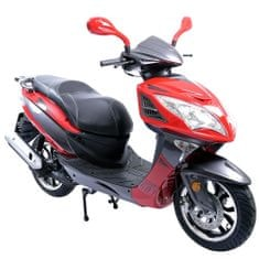 CLS MOTORCYCLE Skútr CLS TIGERRO 125 ccm červený