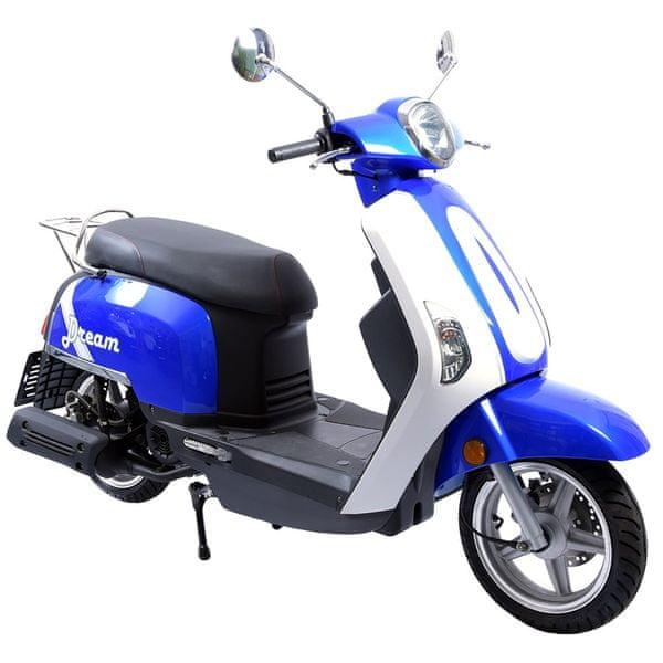 CLS MOTORCYCLE Skútr CLS DREAM 125 ccm modrý