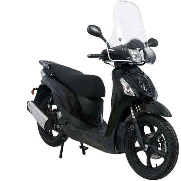 CLS MOTORCYCLE Skútr CLS LINTEX 125 ccm černý