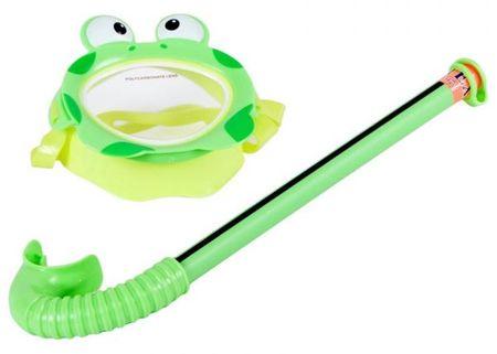 Intex otroška maska z dihalko-žabica (55940)