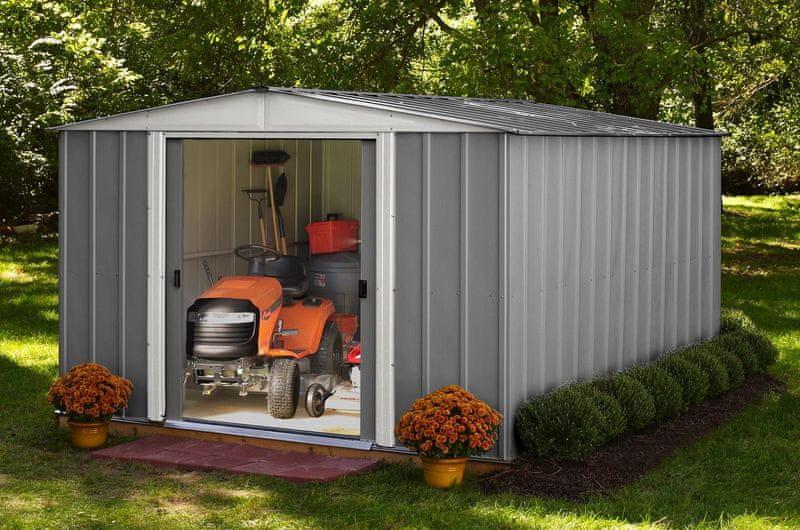 Arrow zahradní domek ARROW DRESDEN 1012 šedý
