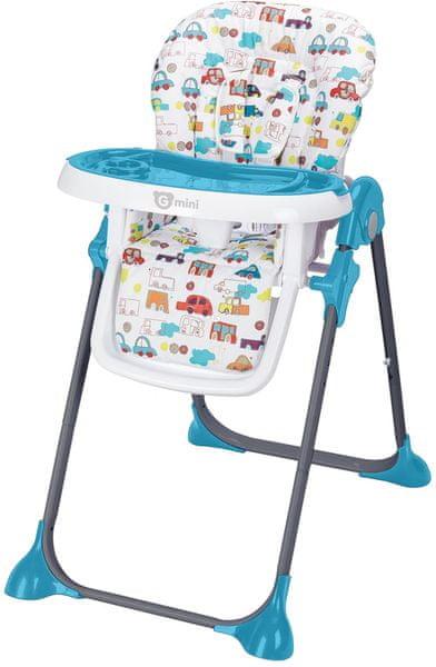 G-mini Jídelní židle Simply, Cars, modrá