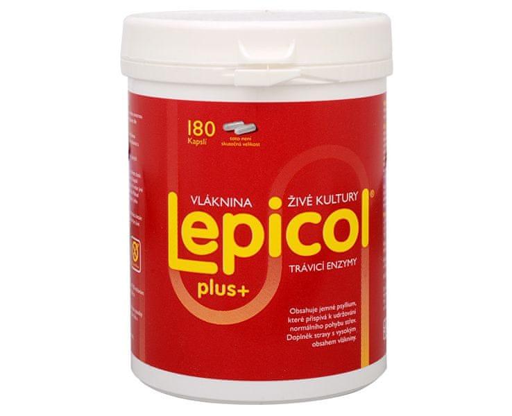 PROBIOTICS INTERN Lepicol Plus 180 kapslí