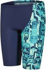 Speedo Spodenki Allover Panel Jammer Junior Navy/Jade/Green Glow