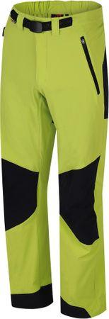 Hannah moške hlače Gramado, zelene/črne, XL