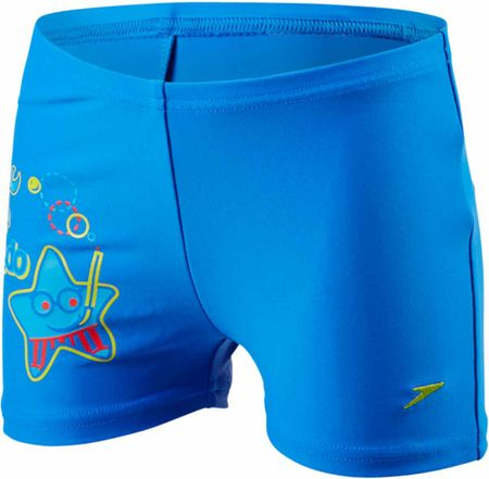 Speedo Kąpielówki Sea Squad Placement Aquashort Neon Blue/Japan Blue/Risk Red 3