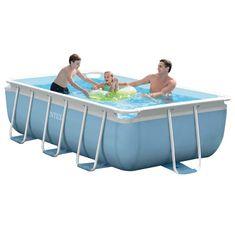 Intex bazen Prism Frame Set 300 x 175 × 80 cm, s kartušno črpalko, lestev (28314NP)