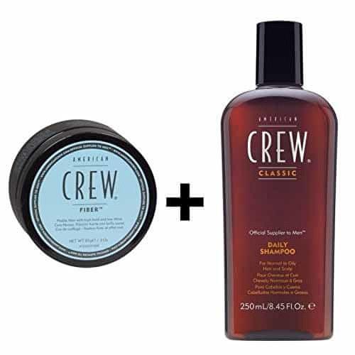 American Crew Dárková sada vlasové péče pro muže (Daily Shampoo 250 ml + Fiber 85 g)