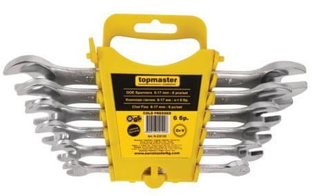 Topmaster 12-delni komplet viličastih ključev, 6-32 mm (235122)