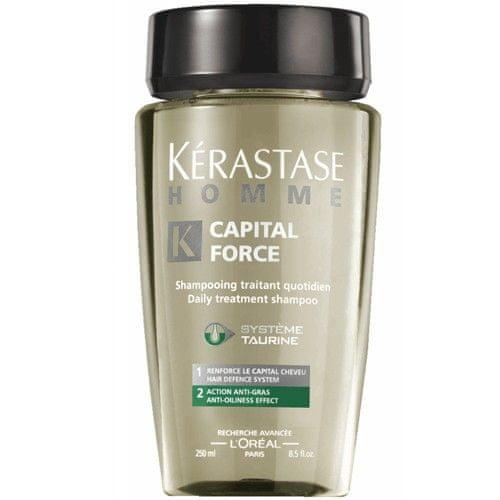 Kérastase Šampon na mastné vlasy pro muže Homme Capital Force (Daily Treatment Shampoo Anti-Oiliness Effect) (