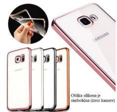 Silikonska maska za Samsung Galaxy A5, zlatna