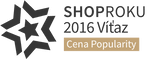 SHOPROKU 2016 - CENA POPULARITY