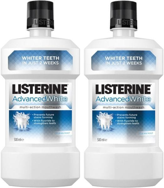 Listerine Advanced White 2x 500 ml